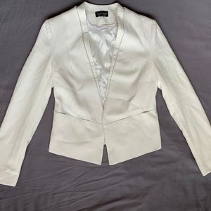 Top shop white blazer